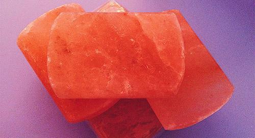 Мыло-скраб из розовой гималайской соли