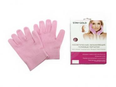 Косметические увлажняющие гелевые перчатки STAY GOLD