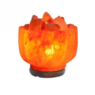 Соляной светильник STAY GOLD Ваза с камнями